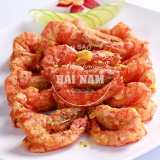 TÔM KIM SA (Món ăn nhà hàng)