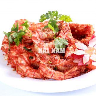 TÔM RANG MUỐI (Món ăn nhà hàng)
