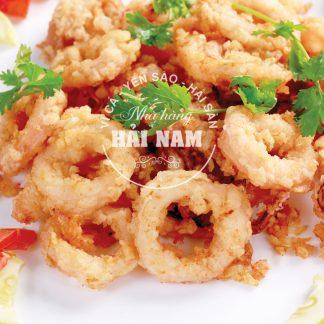 MỰC CHÁY TỎI (Món ăn nhà hàng)