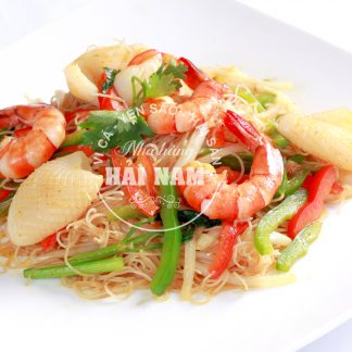 BÚN GẠO XÀO SINGAPORE (Món ăn nhà hàng)